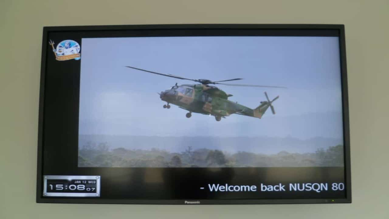 Digital Signage – Department of Defence HMAS Albatross Welcome Boards