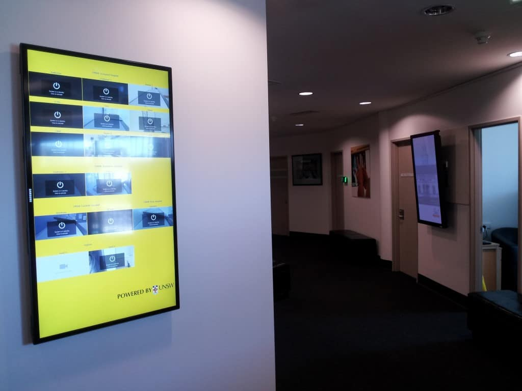 Video Conference Monitoring and Digital Signage 1