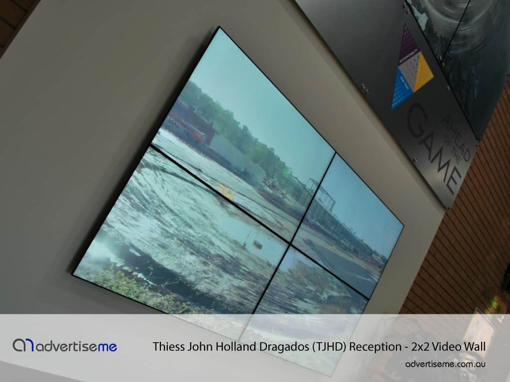 Thiess John Holland Dragados (TJHD) Video Wall 1