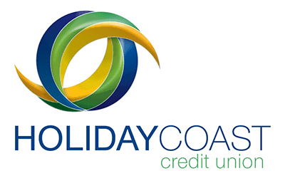 HCCU Holiday Coast Credit Union Logo