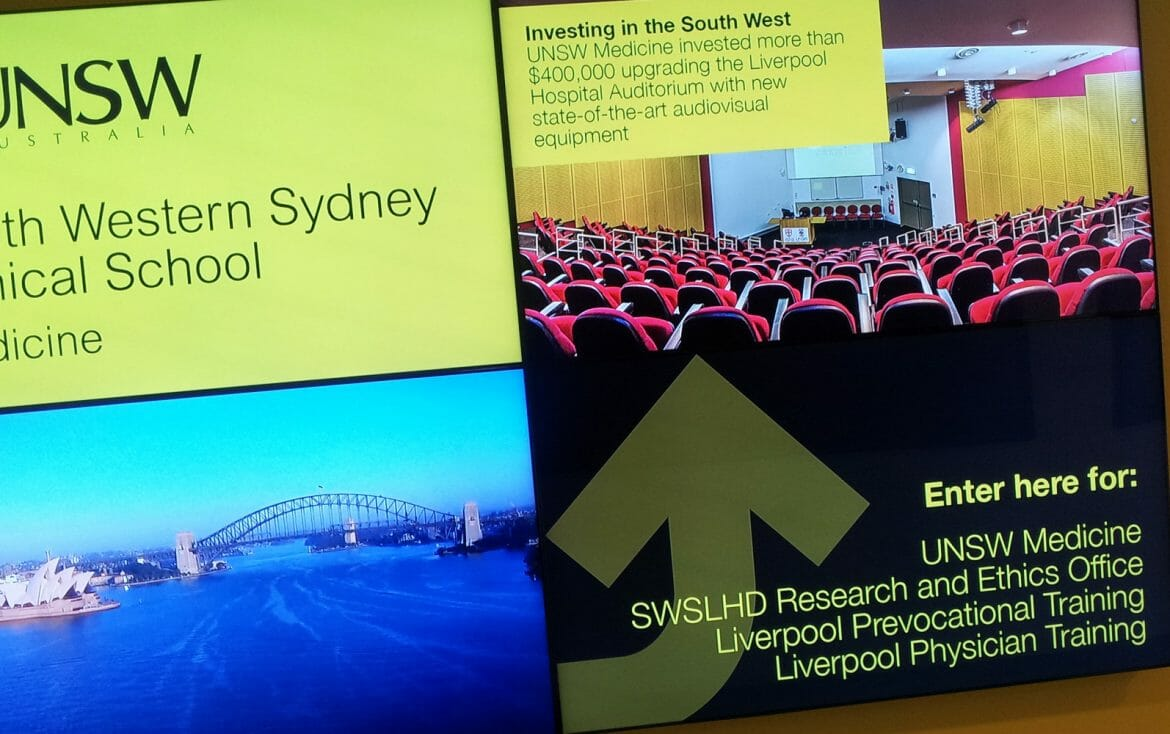 Advertise Me - UNSW Video Wall