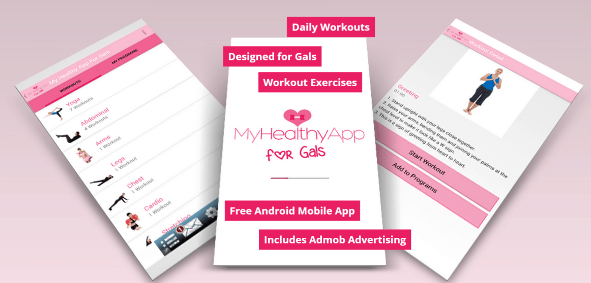 Advertise Me - Mobile Application My Healthy App