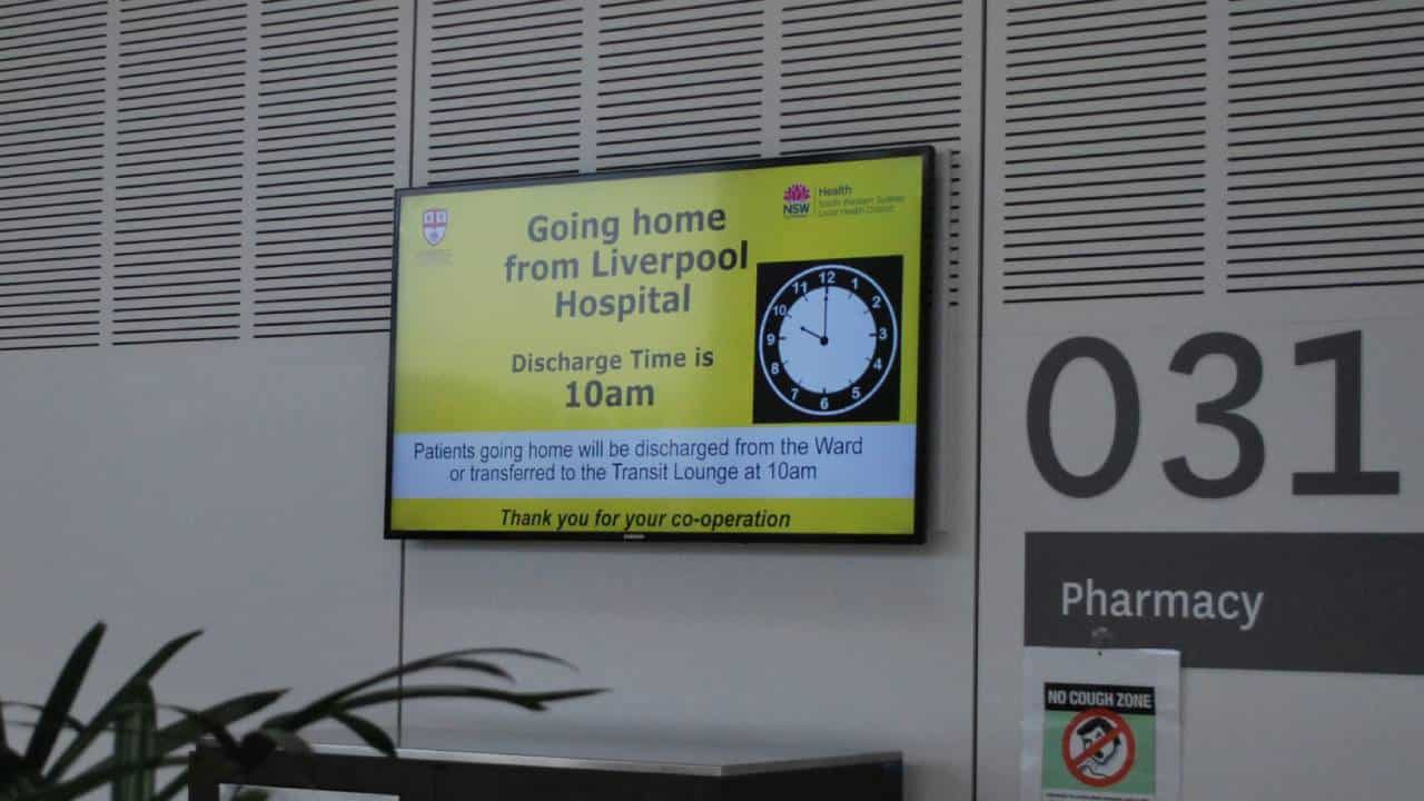 Digital Signage – Liverpool Hospital Welcome Boards