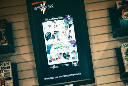 Digital Out of Home Advertising - Newsxpress Crows Nest