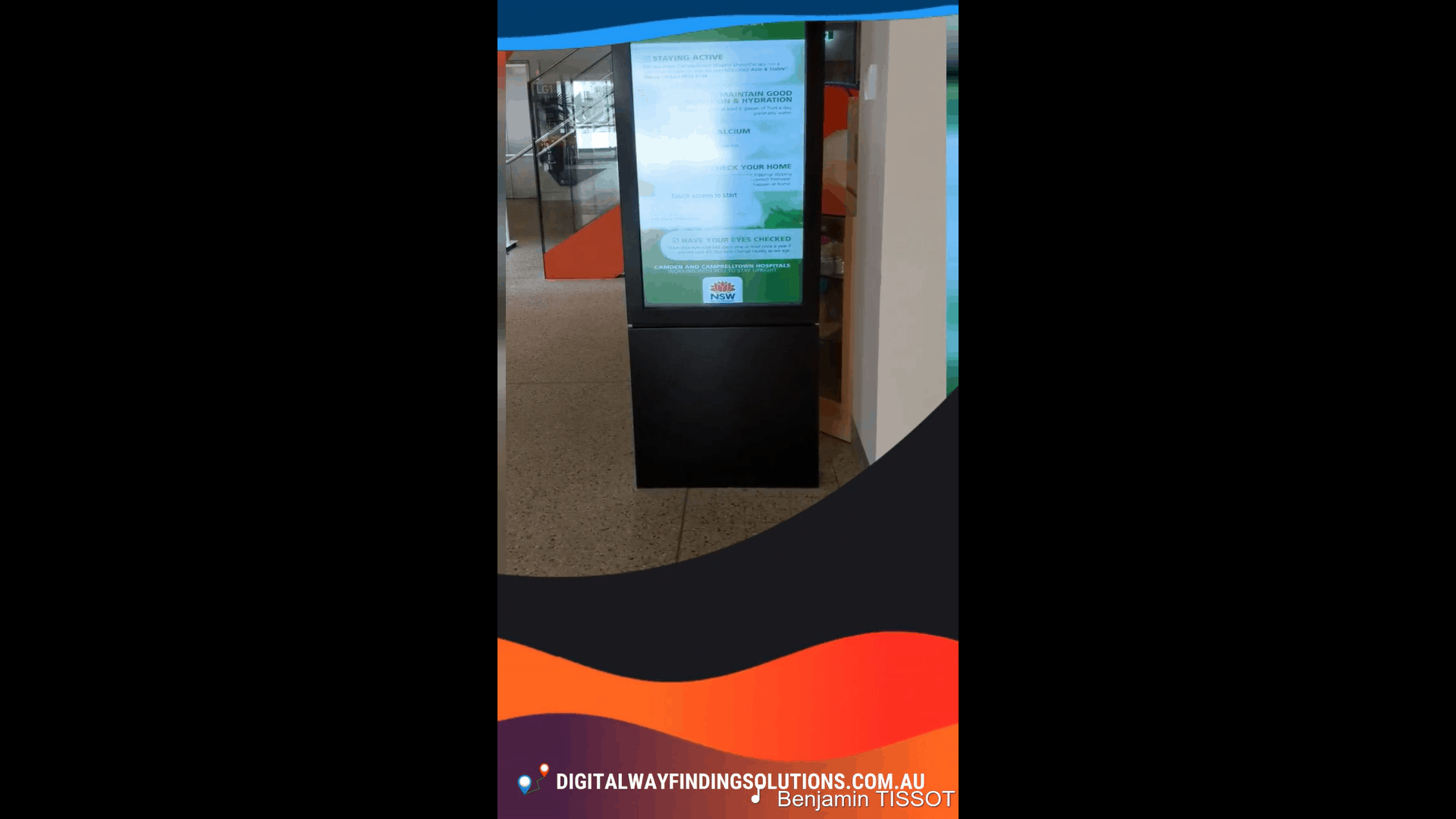 Advertise Me - Digital Wayfinding Solutions for Hospitals