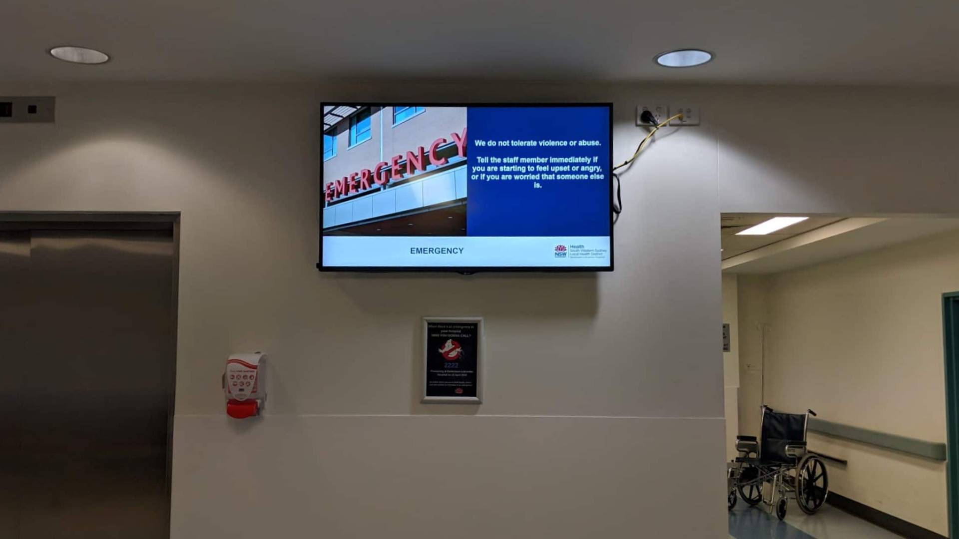 Digital Signage – Bankstown Hospital Welcome Boards