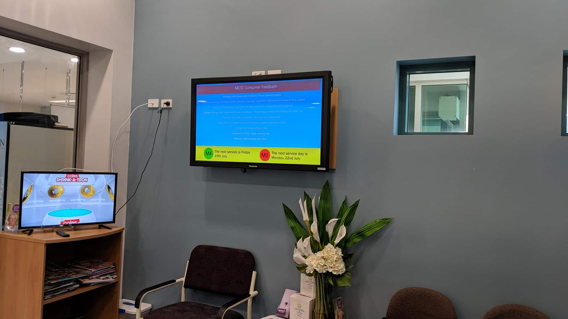 Digital Signage – Cancer Therapy Centre Medical Boards