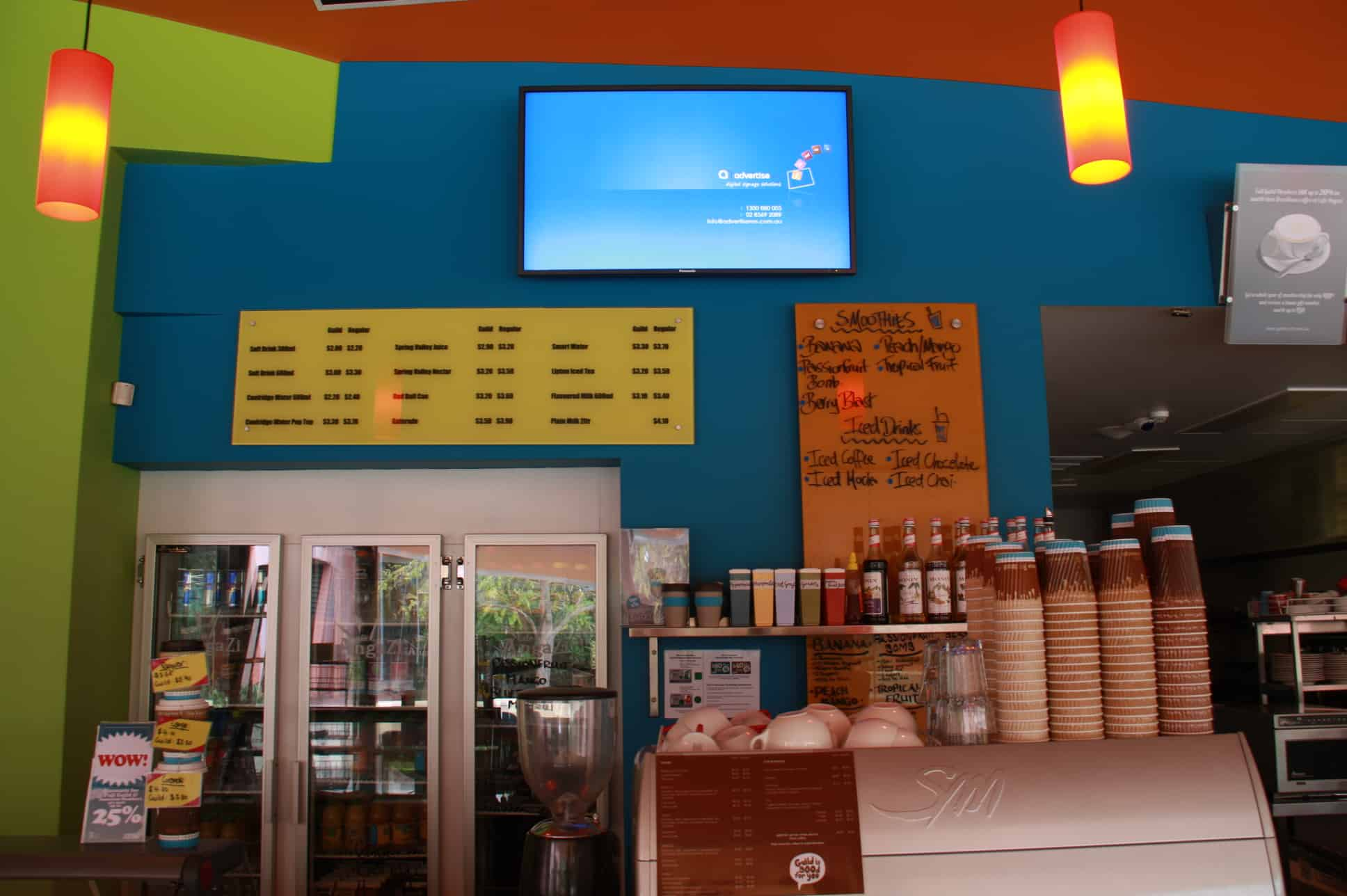 Advertise Me - Digital Signage Curtin Student Guild