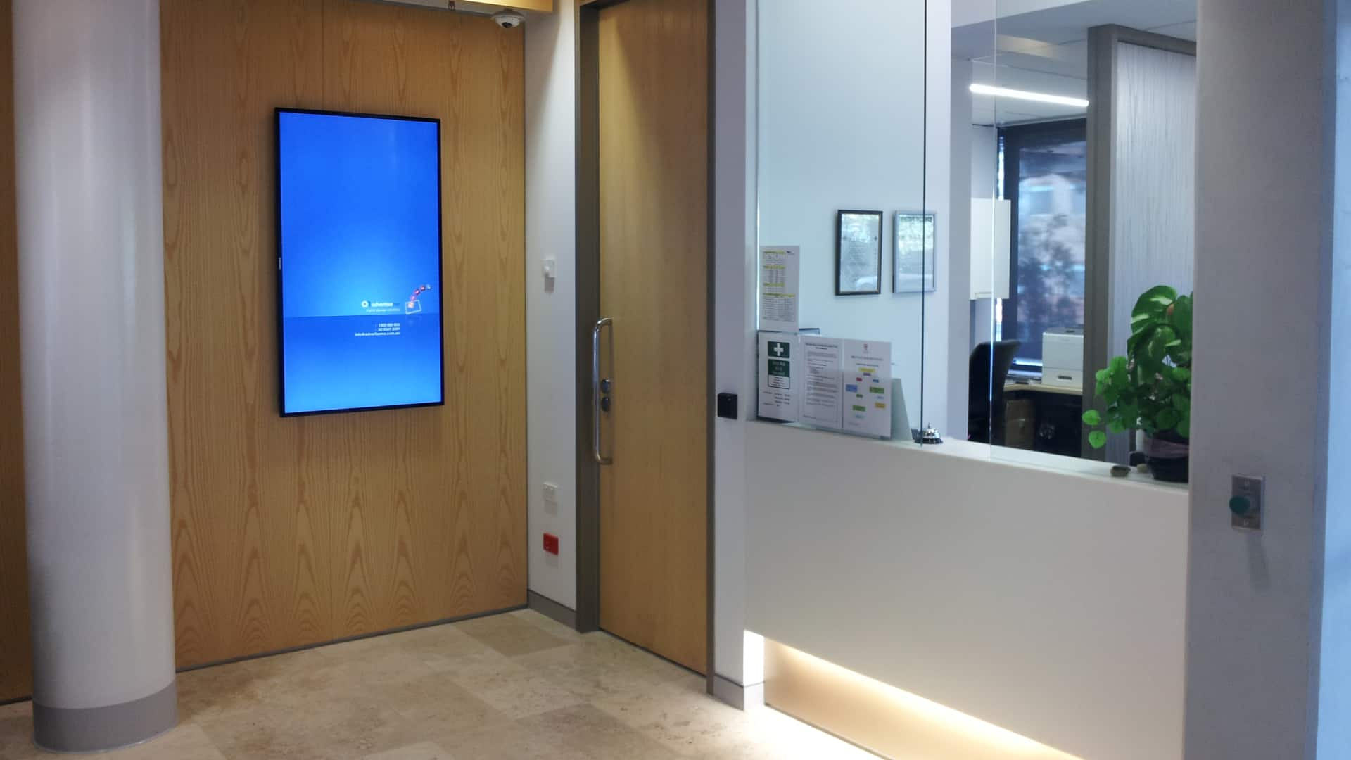 Digital Signage – Ingham Institute Welcome Boards