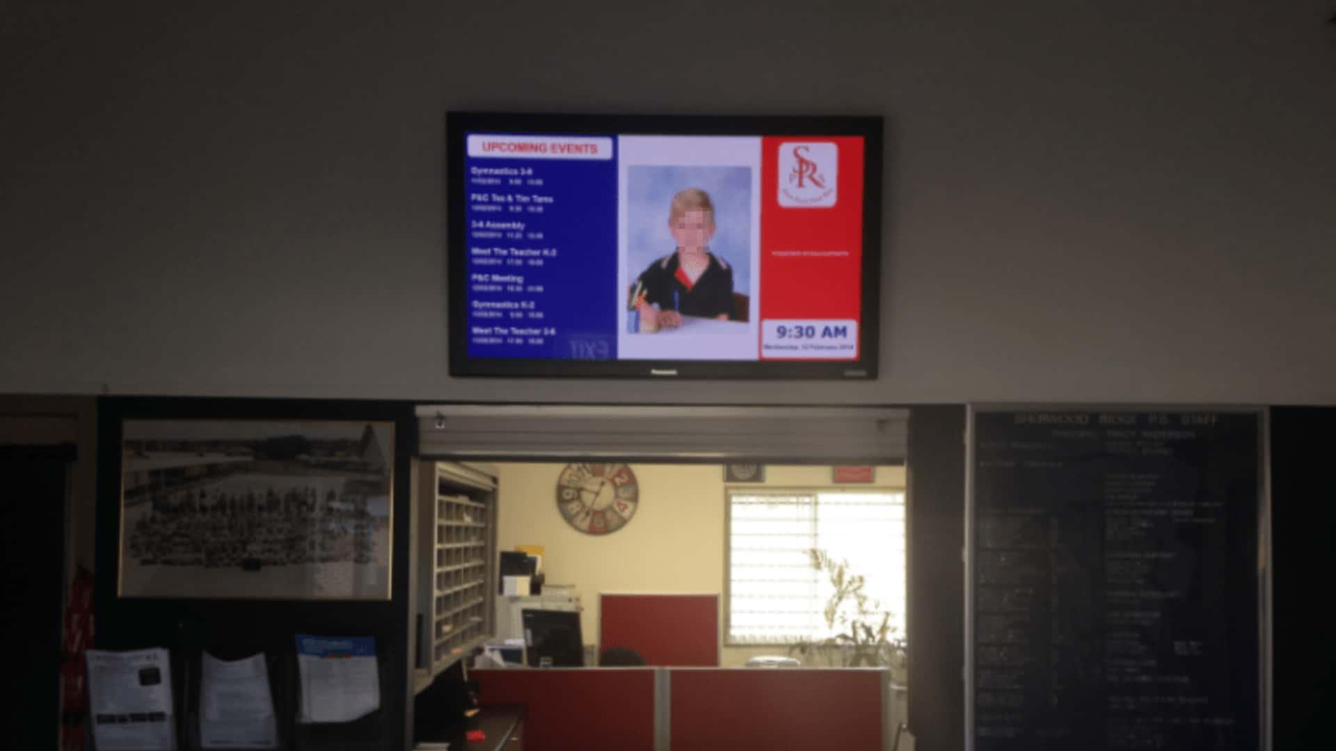 Digital Signage – Sherwood Ridge Public School Education Board