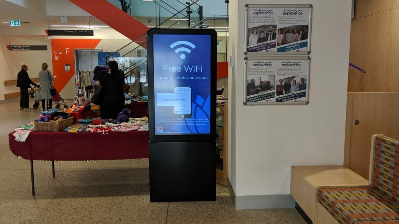 Advertise Me - Digital Wayfinding Campbelltown Hospital Foyer