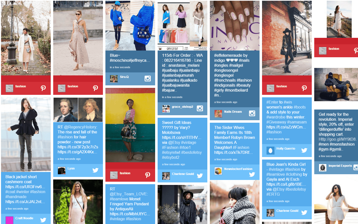 Advertise Me - Social Wall Example