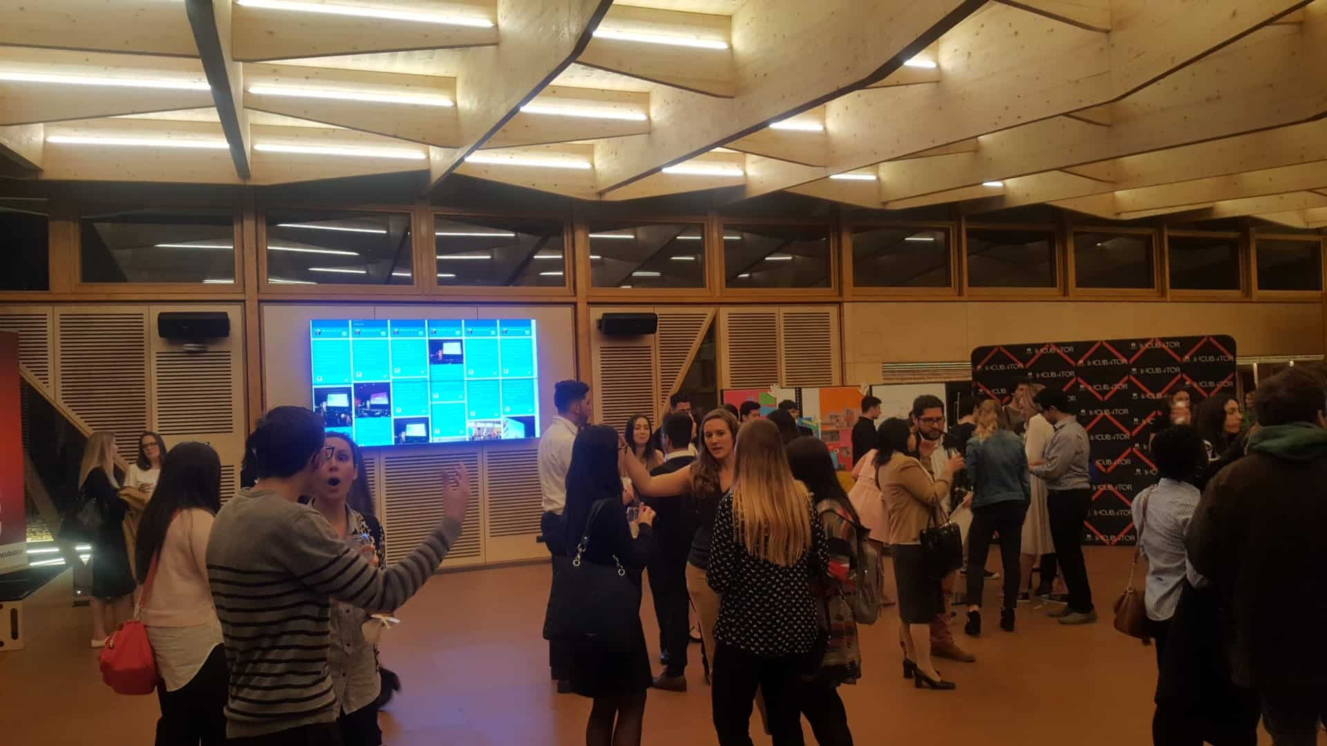 Social Wall – Macquarie University Event