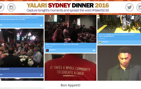 Advertise Me - Social Wall Yalari Dinner Melbourne