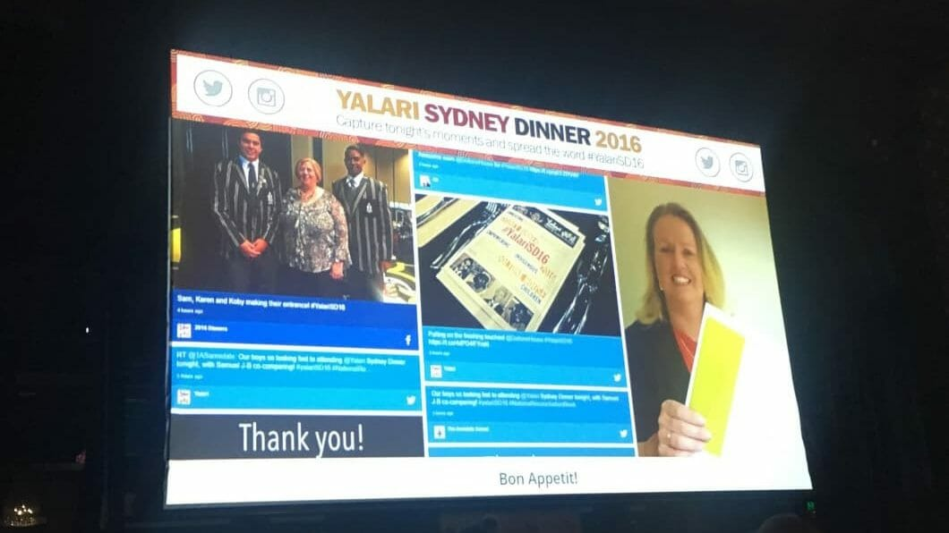 Advertise Me - Social Wall Yalari Event Sydney