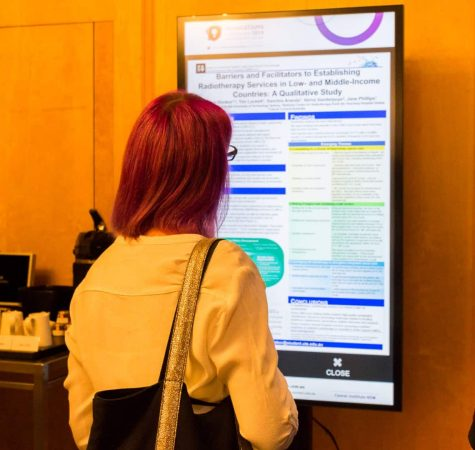 Interactive Digital Signage ePosters - Cancer Institute NSW Innovations Conference 2019