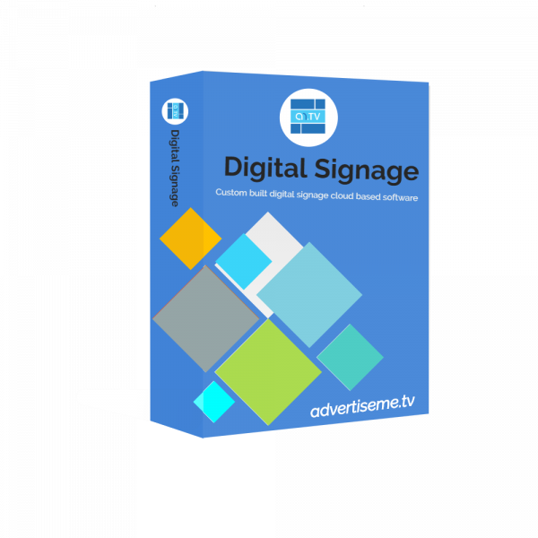 Advertise Me Digital Signage Software