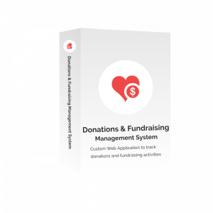 Advertise Me Donations and Fundraising Management System