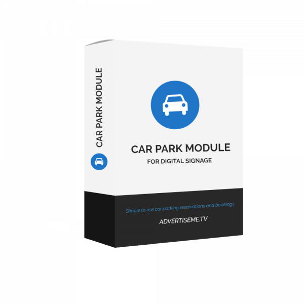 Advertise Me Digital Signage Car Park Module Cover