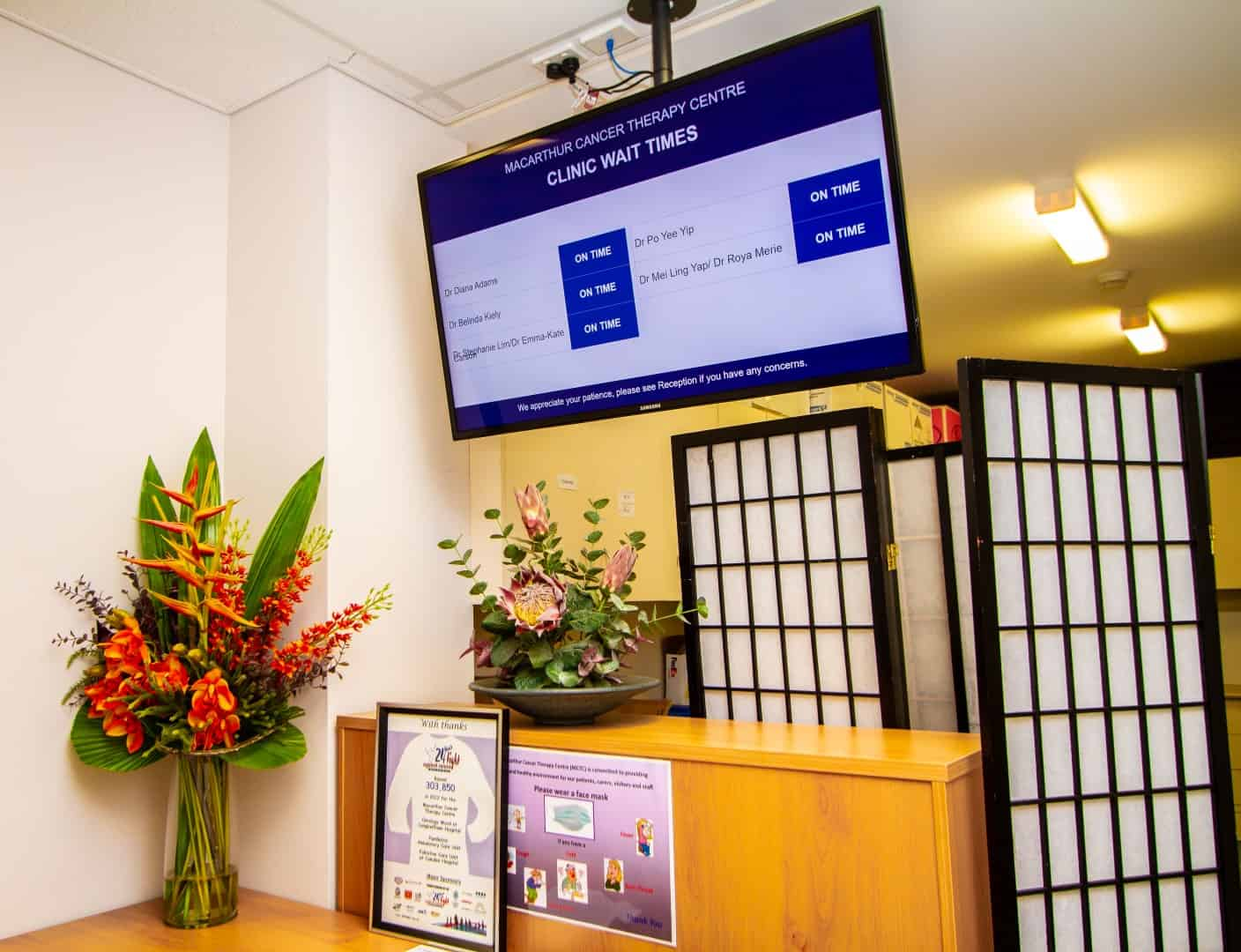 Advertise Me Cancer Therapy Centre Clinic Wait Times